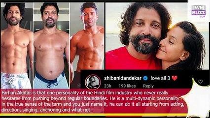 Farhan Akhtar share training prep photo for Toofaan girlfriend Shibani Dandekar has the cutest reply