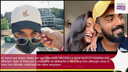 KL Rahul shares photo flaunting his new sunglasses fan says Athiya Shetty thats your cute hand