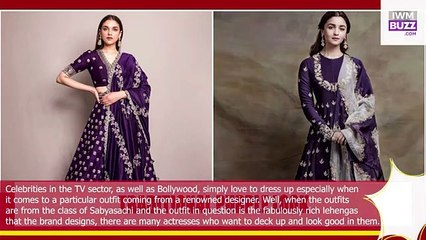 Purple Is Celeb Favourite From Aditi Rao Hydari To Alia Bhatts Traditional Purple Look