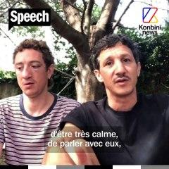 Victimes d'une agression homophobe ce 14 juillet en Corse, Benoît et Mickaël témoignent | SPEECH