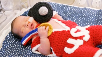 Un hôpital du Missouri célèbre les Jeux olympiques avec ses nouveau-nés