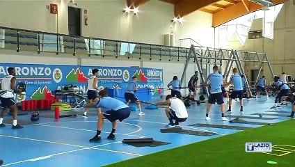 Auronzo di Cadore - l'allenamento della Lazio: 22 luglio 2021