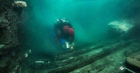 Égypte : des archéologues découvrent un navire et site funéraire grec dans une cité antique engloutie