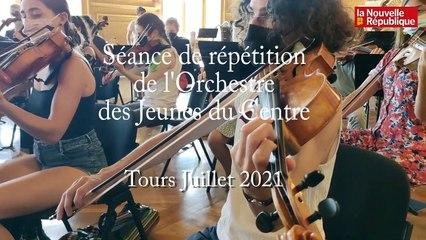 Tours. L'Orchestre des Jeunes du Centre lance sa tournée estivale