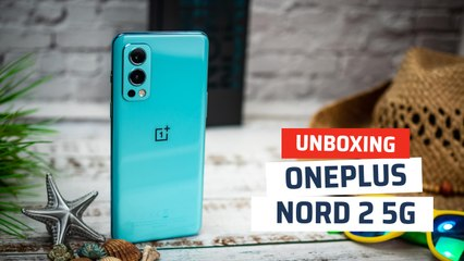 Unboxing OnePlus Nord 2 5G