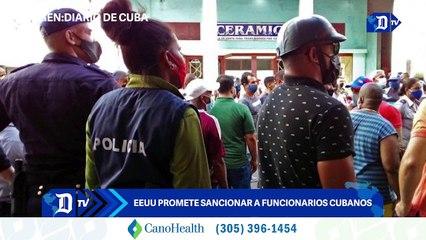 EEUU promete sancionar a funcionarios cubanos | El Diario en 90 segundos