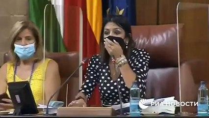 Parlamentoya fare girdi, oturum yarıda kesildi