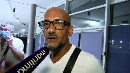 VIDEO : réactions  du public au concert de Francis Cabrel à Martigues au micro de Davy Moisson