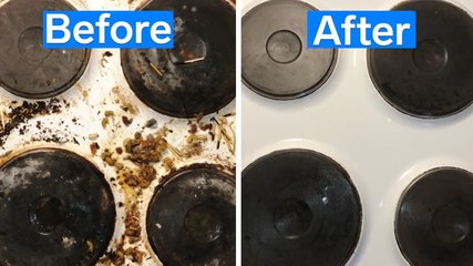 How a greasy kitchen is professionally deep cleaned