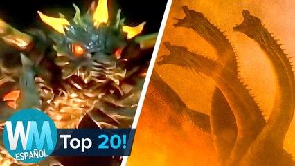 ¡Top 20 MONSTRUOS  de Godzilla!