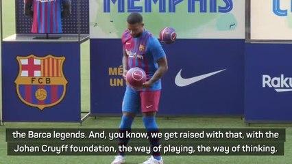 Depay's grandfather said he'd play for Barcelona