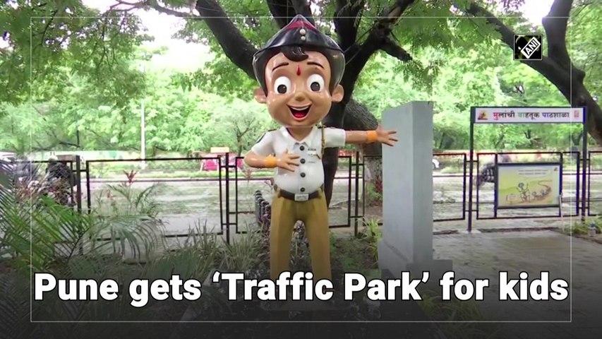 Pune gets 'Traffic Park' for kids