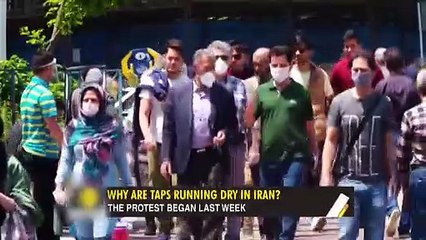 Gravitas- Iranians take to the streets for water