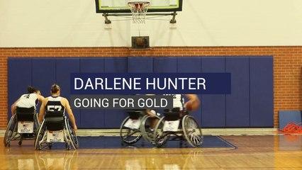 Darlene Hunter Going For Gold