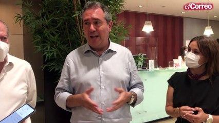 """Espadas, """"ilusionado"""" para """"reactivar la militancia"""" del PSOE-A"""