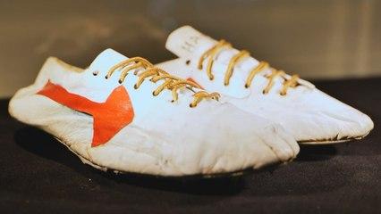 Ces chaussures d'athlétisme pourraient atteindre 1 million d'euros aux enchères