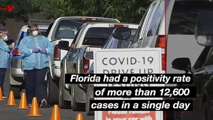 Florida Now Epicenter of COVID Cases in the U.S.