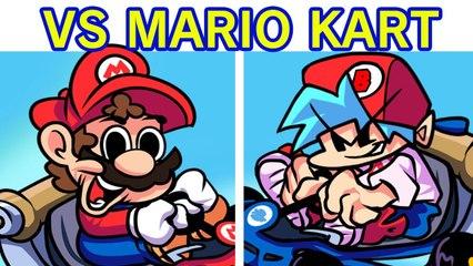 Friday Night Funkin' - VS Super Mario Kart Week (FNF Mod_Hard) (SMK x FNF Demo)