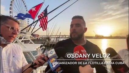 Desde Florida sale una flotilla de apoyo al pueblo cubano