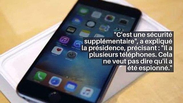 Affaire Pegasus - Emmanuel Macron a changé de téléphone et de numéro _IN