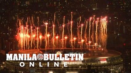 Tokyo 2020: Fireworks mark start of Olympic opening ceremony