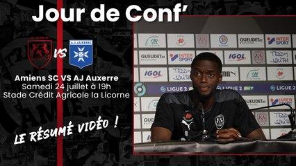 Jour de Conf' ASC-AJA : Adama Diakhaby