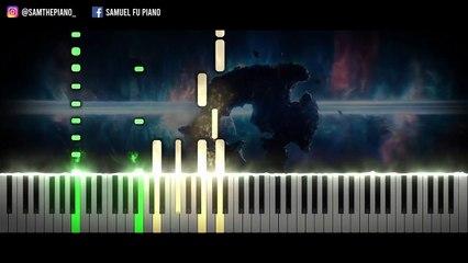 Loki FINALE Episode 6 Ending Theme - [Loki TV Series] (Synthesia Piano Tutorial)+SHEETS