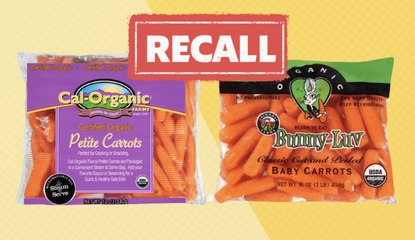 Carrot Recall: California Company Announces Possible Salmonella Contamination in Baby and