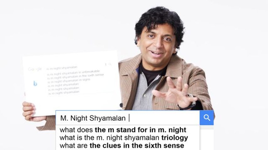 M. Night Shyamalan Answers the Web's Most Searched Questions