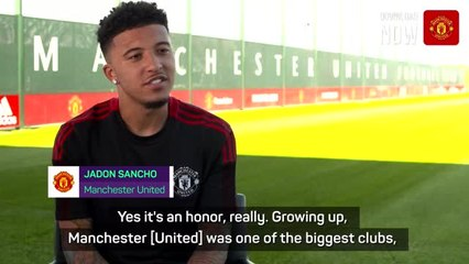 Sancho eyes trophies at Manchester United