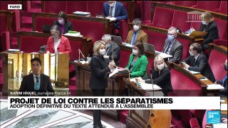 Le Parlement français adopte définitivement le projet de loi contre
