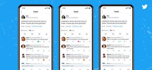 """Twitter test un nouveau bouton """"Downvote"""""""