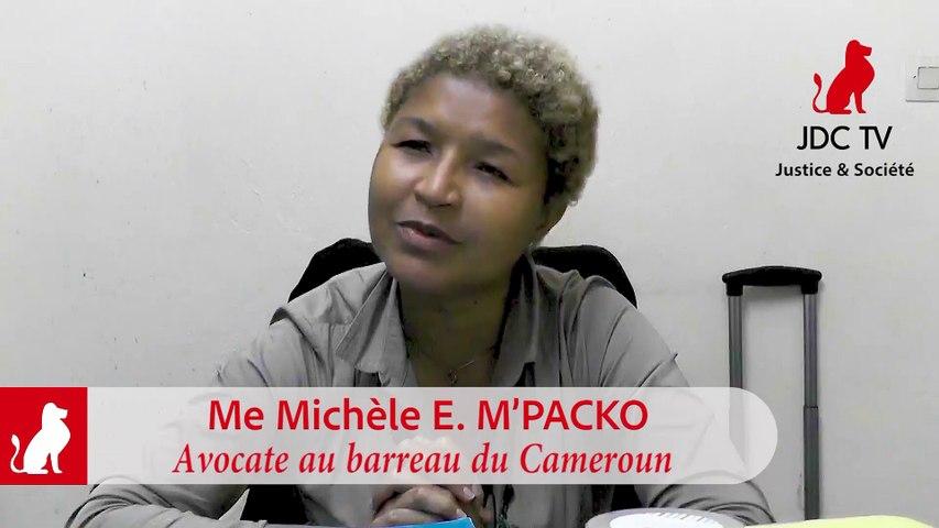 Me MICHELE M. M'PACKO : « Malicka Bayemi est entrain de manipuler l'opinion »