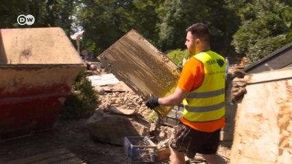 Как сирийские беженцы помогают пострадавшим от наводнения (23.07.21)
