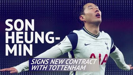 Son Heung-min signs new contract with Spurs