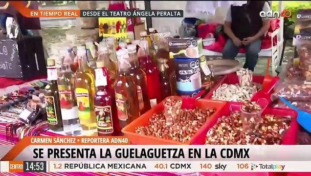 La Guelaguetza se encuentra en la CDMX