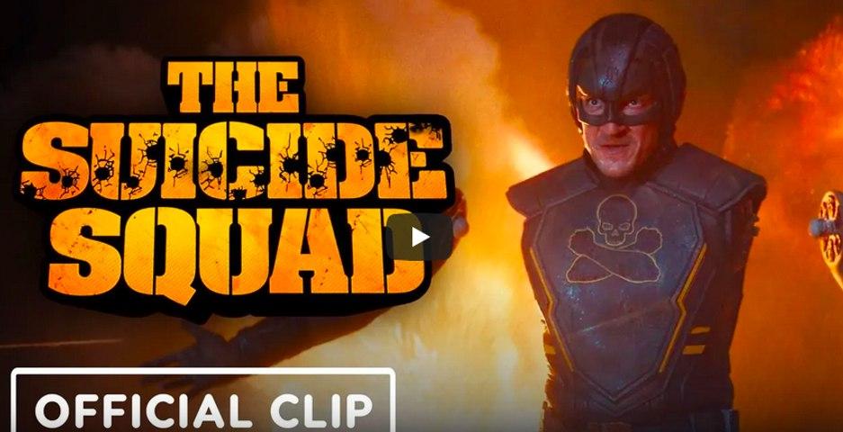 The Suicide Squad - Exclusive Official Clip (2021) Margot Robbie, Idris Elba