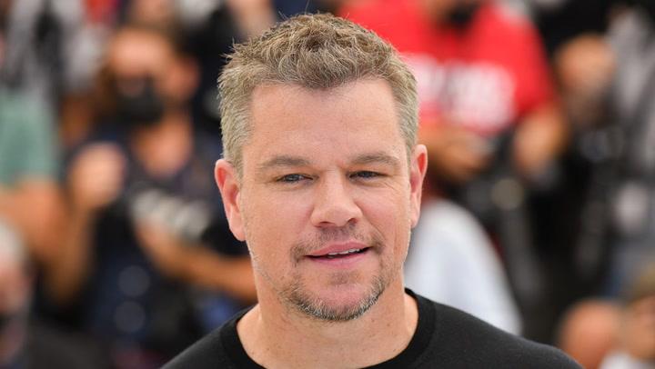 Matt Damon Shares Personal COVID-19 Vaccine Hesitancy | THR News