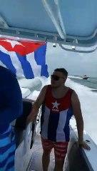 Parte flotilla rumbo a aguas internacionales cerca de Cuba