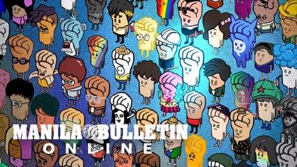 #TUMINDIG: Filipino graphic artist's work sparks online solidarity