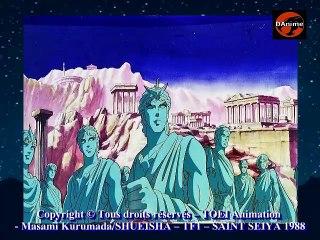 DAnime  : Saint Seiya 01 (2eme partie) Presentation et inspirations de la série animée
