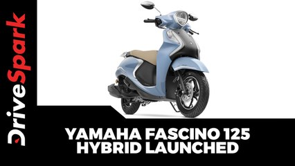Yamaha Fascino 125 Hybrid Launched