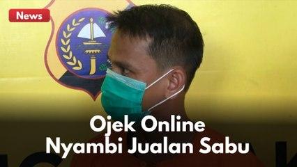 NYAMBI JUALAN SABU !! DRIVER OJOL DI PEKANBARU DIBEKUK APARAT !!