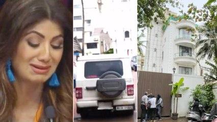Shilpa Shetty's Home Raided By Mumbai Crime Branch | Filmibeat Telugu