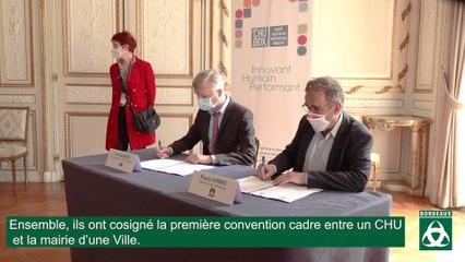 Partenariat entre le CHU et la ville de Bordeaux