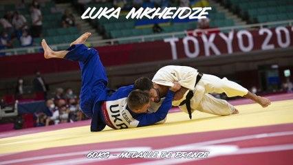 Jeux olympiques Tokyo 2021 – Luka Mkheidze : « Elle m'impressionne cette médaille »