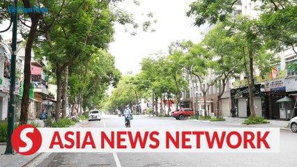 Vietnam News   Social distancing in Hanoi under Directive 16