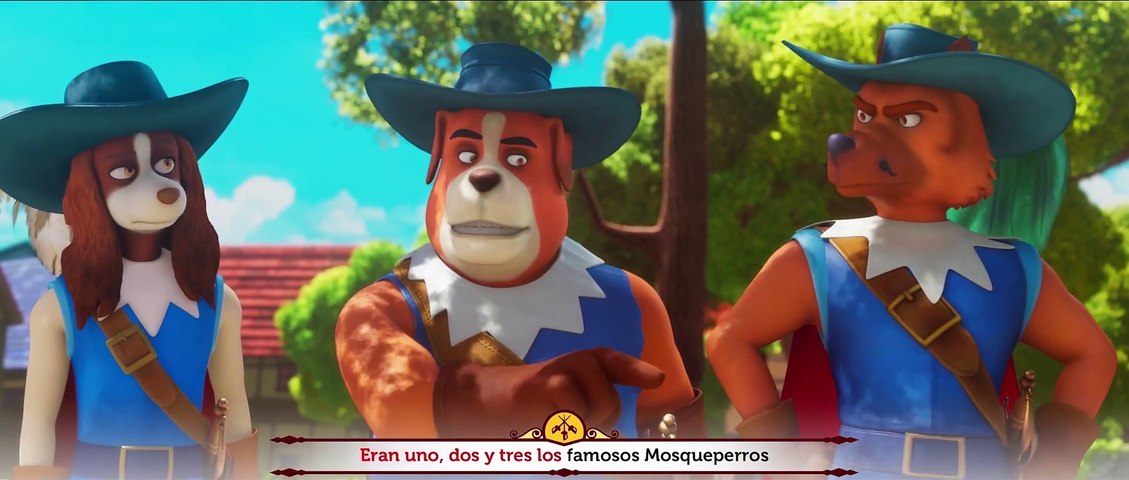 D'ARTACÁN Y LOS TRES MOSQUEPERROS - Teaser Tráiler Español [HD] (2021)