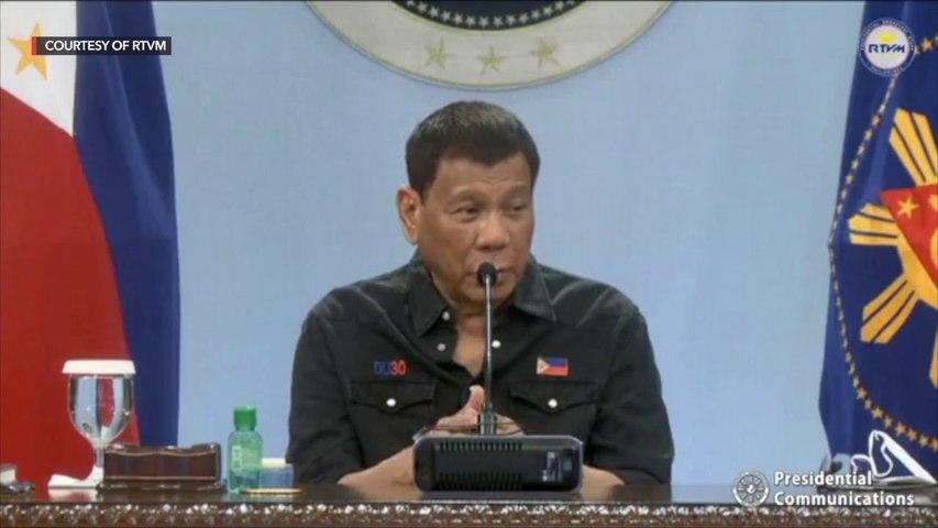 Duterte convenes IATF regarding the country's response to the Delta variant