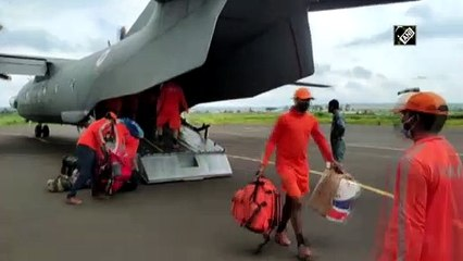 Maharashtra flood: IAF airlifts relief materials in Pune